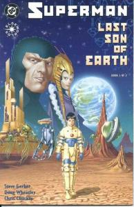 Superman: Last Son of Earth #1, NM (Stock photo)
