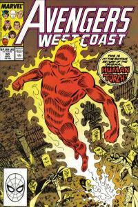 Avengers West Coast #50, VF+ (Stock photo)