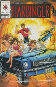 HARBINGER  10-Different, Teenage Mutants In The Valiant
