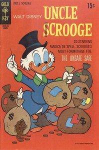 Uncle Scrooge (1953 series) #88, Good- (Stock photo)