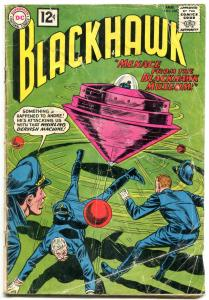 BLACKHAWK #168 1962-DC COMICS-WHIRLING DERVISH!!! SCI F FR/G