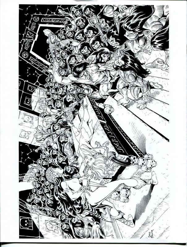 Erbania #83 1999 -Edgar Rice Burroughs-Tarzan-Tom Yeates