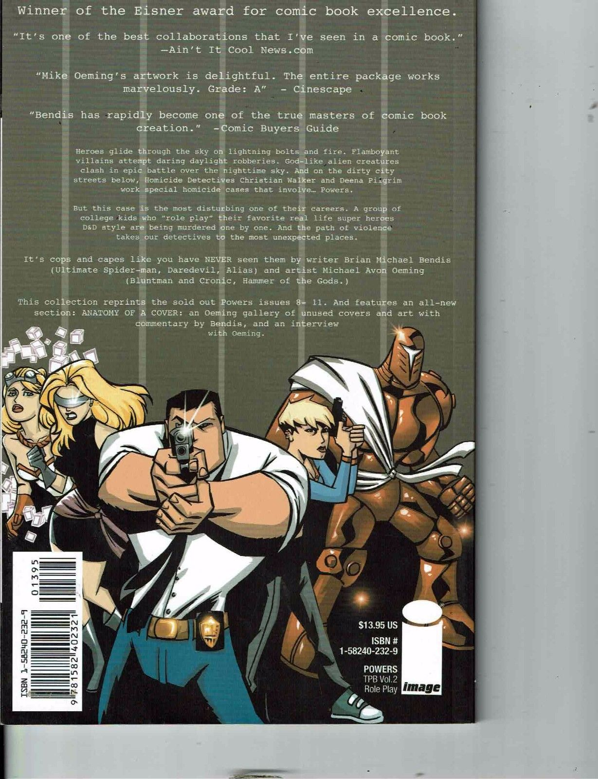 Powers Roleplay Marvel Icon Comics Graphic Novel TPB Comic Book ...