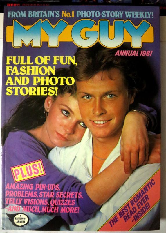 MY GUY - 5 British Annuals IPC Magazines UK Love Life HB
