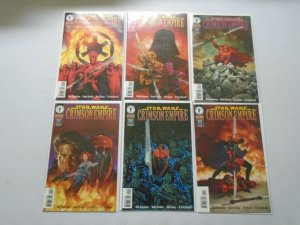 Star Wars Crimson Empire I set #1-6 NM (1997 Dark Horse)