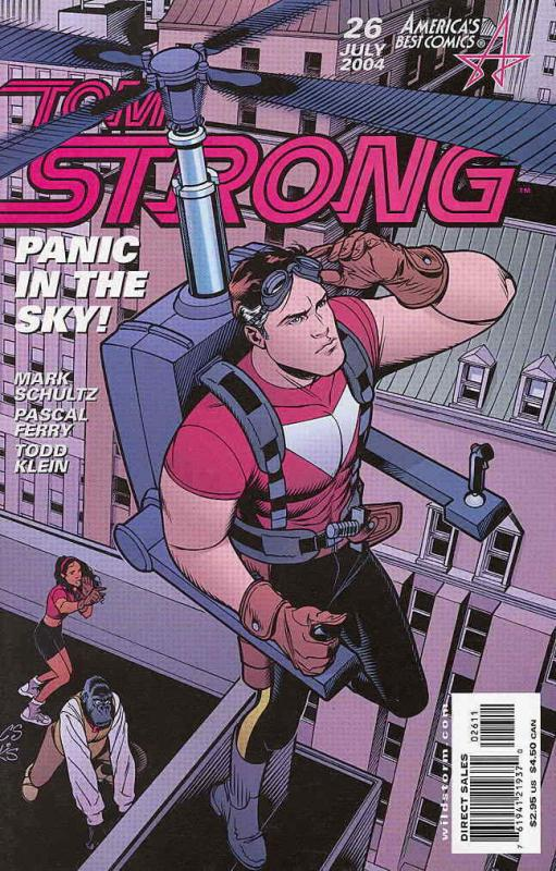 Tom Strong #26 VF/NM; America's Best | save on shipping - details inside