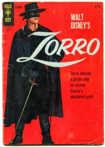 Zorro #3 1966- Silver Age Dell comic- Guy Williams G/VG