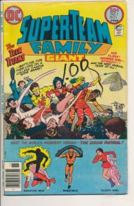 DC Super Team Family #7 Fine (6.0) Giant Teen Titans (642J)