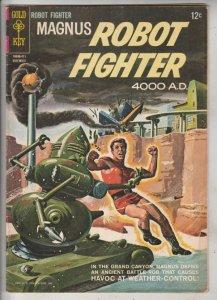 Magnus Robot Fighter #8 (Nov-64) FN/VF Mid-High-Grade Magnus Robot Fighter