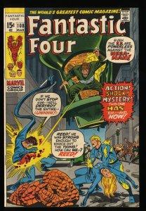 Fantastic Four #108 VF 8.0 Marvel Comics