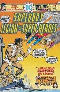 Superboy (1st Series) #216 FN; DC   save on shipping - details inside