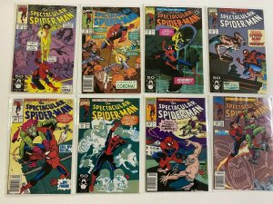 Spectacular Spider-Man lot 37 different from #176-214 avg 8.0 VF (1991-94)