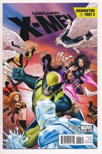 The UNCANNY X-MEN #533, Quarantine Part 4, Marvel Comics ~ NM (HX134)