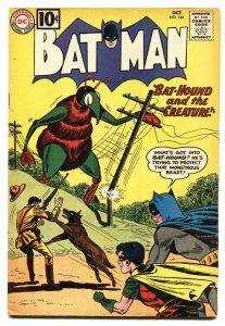 Batman #143 Silver-Age 1961-DC-Bat-hound vs The Creature-VG