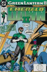 Green Lantern: Emerald Dawn II #2 FN; DC | save on shipping - details inside