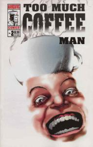 Too Much Coffee Man #2 (3rd) VF/NM; Adhesive | save on shipping - details inside