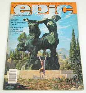 Epic Illustrated #9 VG; Epic | low grade comic - save on shipping - details insi