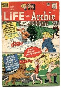 Life With Archie #33 1965-Betty & Veronica- Tarzan parody VG-