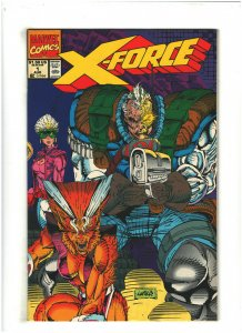 X-Force #1 VF/NM 9.0 Marvel Comics 1991 Unsealed W/O Card Rob Liefeld