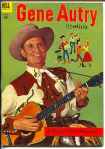 Gene Autry #73 1953-Dell-photocover-B-Western film star-VF-