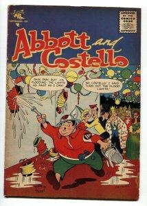 ABBOT AND COSTELLO COMICS #40 1956-ST JOHN-Civil Defense cover