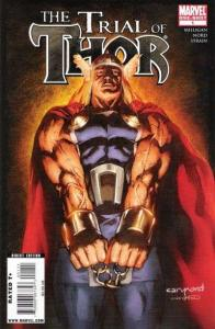 Thor (2009 series) The Trial of Thor #1, VF+ (Stock photo)