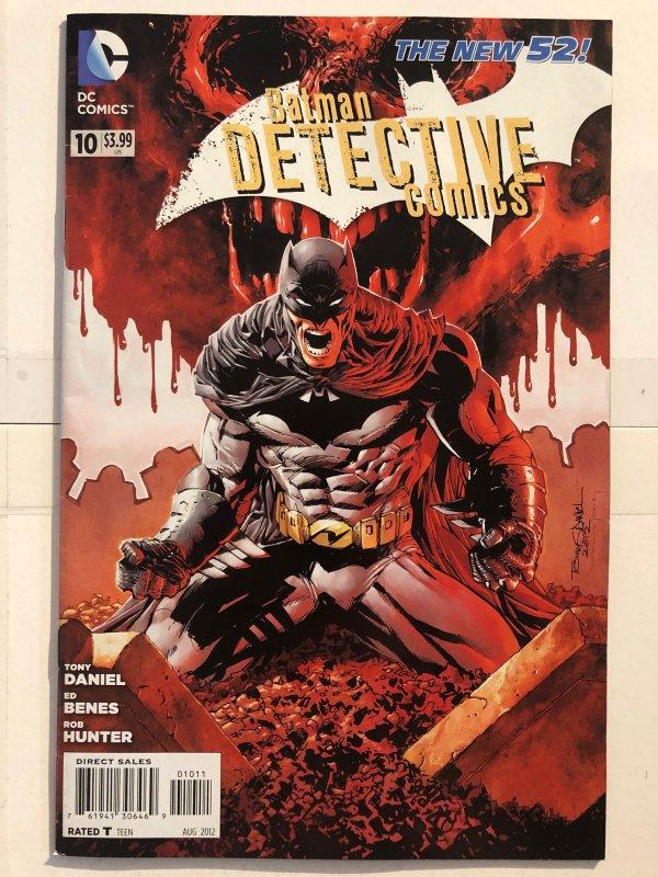 Detective Comics #10 (2011) - New 52