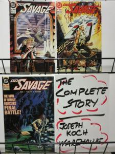 DOC SAVAGE (1988) 22-24  The Asteroid Terror finale! COMICS BOOK