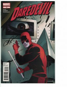 Daredevil (3rd Series) #14 VF/NM signed by Paolo Rivera - Marvel 2012
