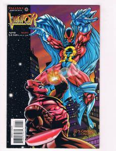 The Vistor #1 NM Valiant Comics Modern Age Comic Book Vanhook Ross April DE28