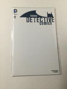 Batman Detective Comics 44 Nm Near Mint Blank Variant DC Comics