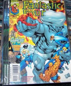 FANTASTIC FOUR #23  vol 3 1999 marvel red skull mad thinker