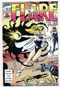 Flare (1988 1st Series) #1-3 FN/VF Complete series