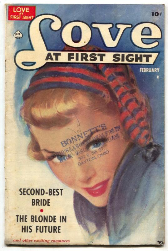 Love at First Sight #3 1950- Blonde in His Future VG