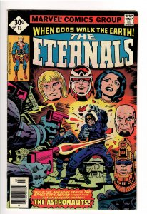 ETERNALS(KIRBY,1976);13 F+ 6.5 1st APP ONE ABOVE ALL!;1st APP FORGOTTEN ONE!