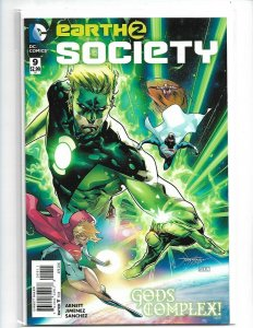 Earth 2 Society #9 NM 2016    nw113