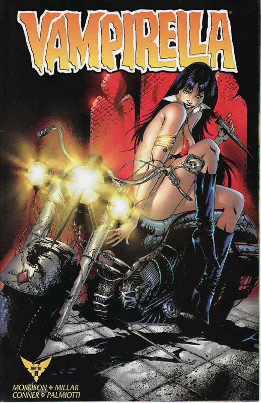 Vampirella Monthly #3A VF/NM; Harris | save on shipping - details inside