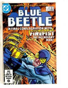 Lot Of 11 Blue Beetle DC Comic Books # 2 3 4 5 6 7 8 9 10 11 12 Batman Flash JC5