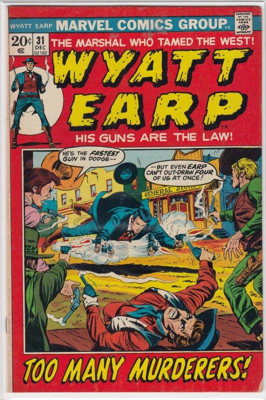 Wyatt Earp (AU) #31 (1972)
