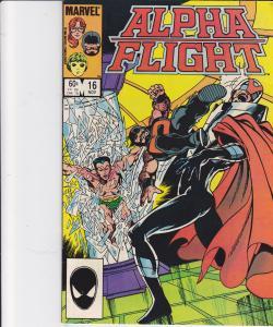 Alpha Flight #16