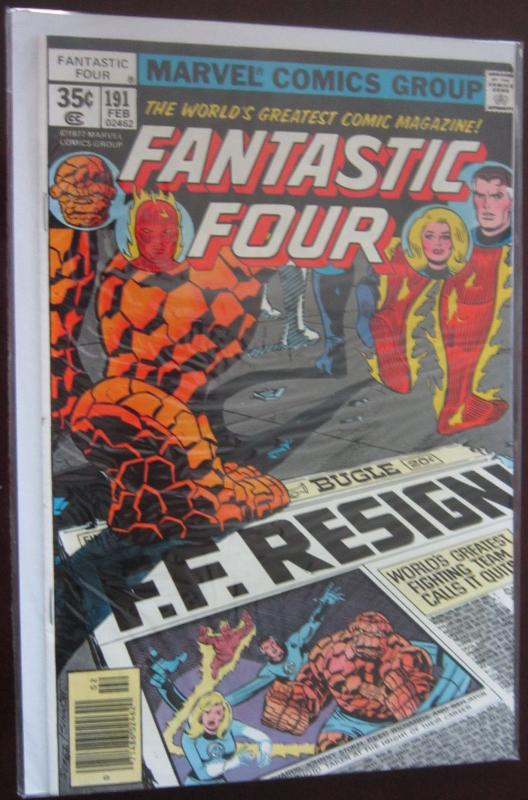 Fantastic Four (1978 1st Series) #191, 8.5