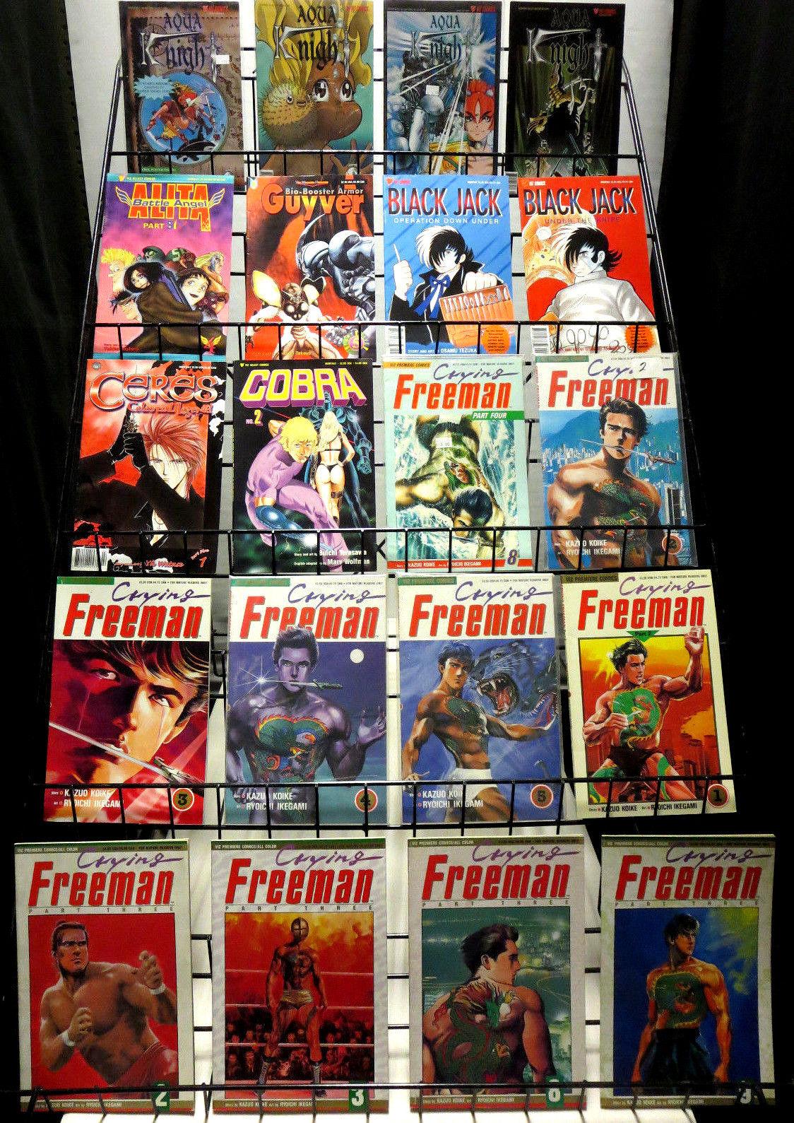 Viz manga collection 75 diff comics1980s 1990s crying freeman striker ranma hipcomic