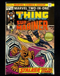 Marvel Two-In-One #2 Thing Sub-Mariner!