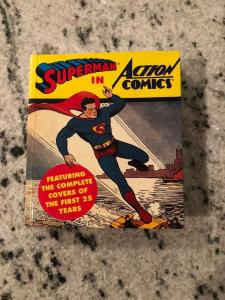 Superman In Action Comics First 25 Years Mini Book Abbeville Press CR61