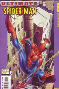 Spider-Man, Ultimate #8 (May-01) NM- High-Grade Spider-Man