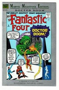MARVEL MILESTONE EDITION: Fantastic Four #5- 1991  FIRST DOCTOR DOOM
