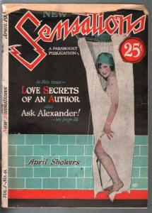 New Sensations #6 4/1925-Paramount-scandal-exploitation-cheesecake pix-G