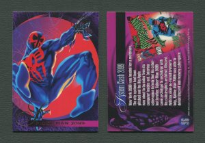 1995 Flair Marvel Annual Card #96 (Spider-Man 2099)  MINT