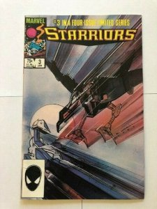 MARVEL STARRIORS #3 1984 VERY FINE+ (PF961)