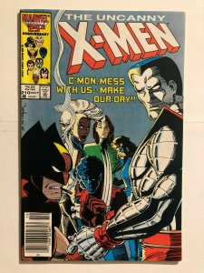 Uncanny X-Men 210 - 1st App. of The Marauders in Cameo - MUTANT MASSACRE